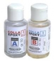 Colla Epoxy 5-15 minuti - ml. 50 + 50